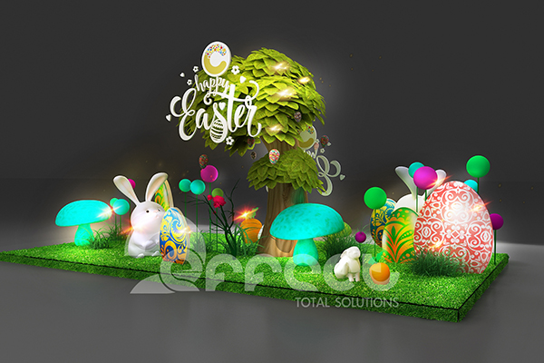 HAPPY EASTER WITH CRESCENT MALL